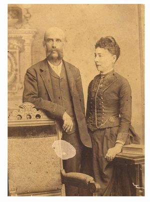 Theron Appell and wife Vicotria Wright