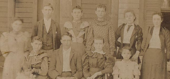 Pryors from Portland TN 1893