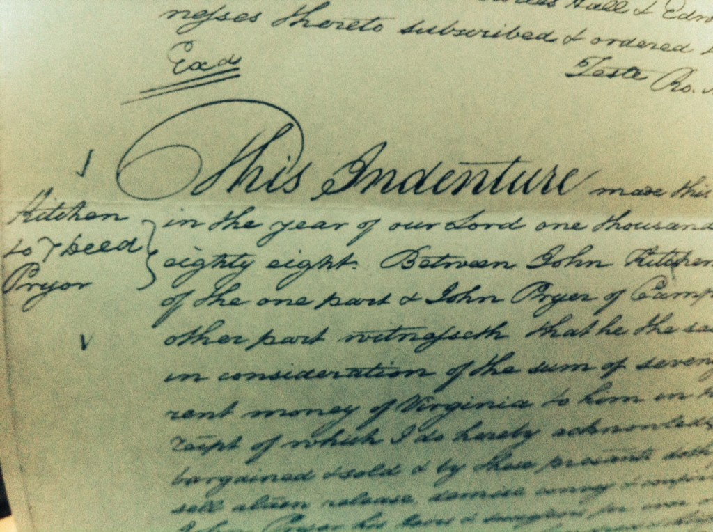 Campbell County Indenture