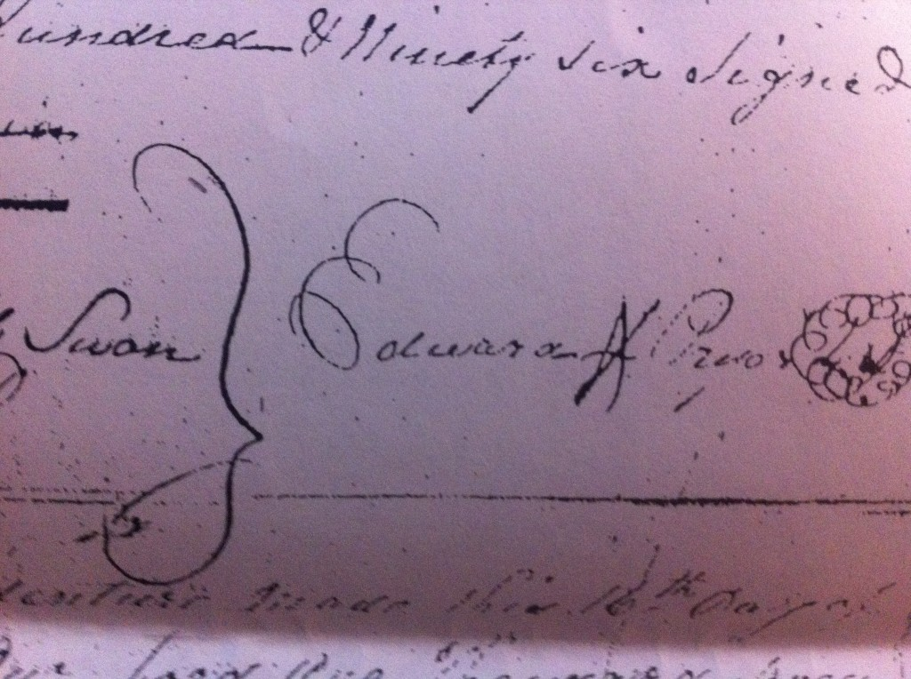 Signature Edward Pryor