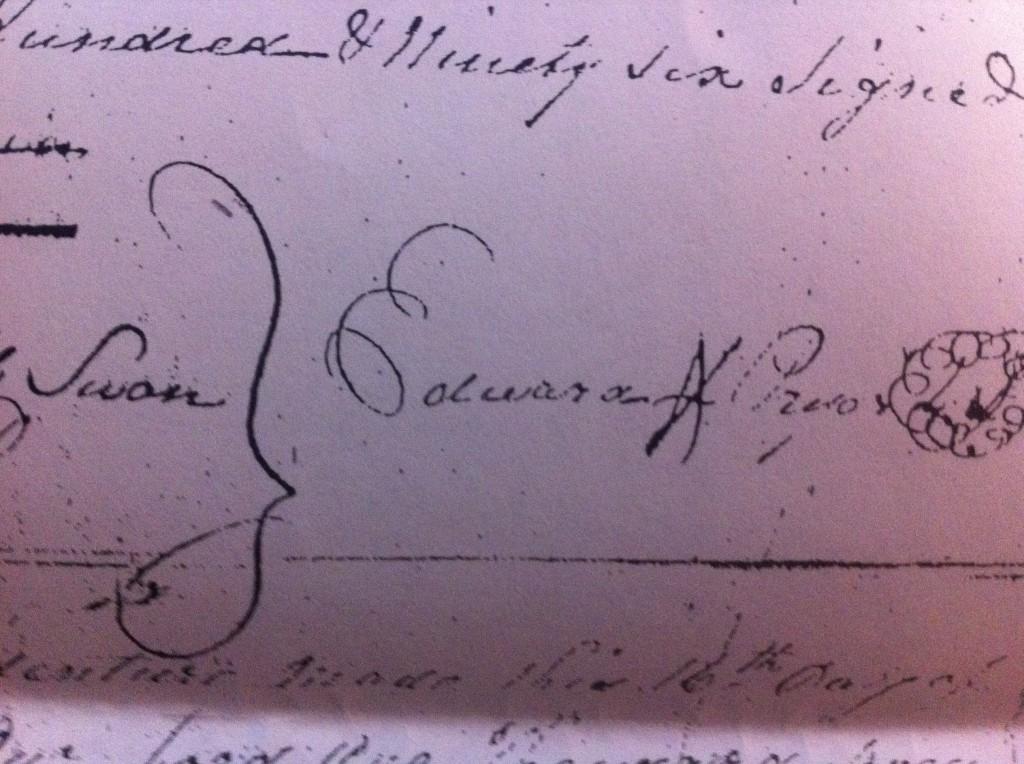 Signature Edward Pryor