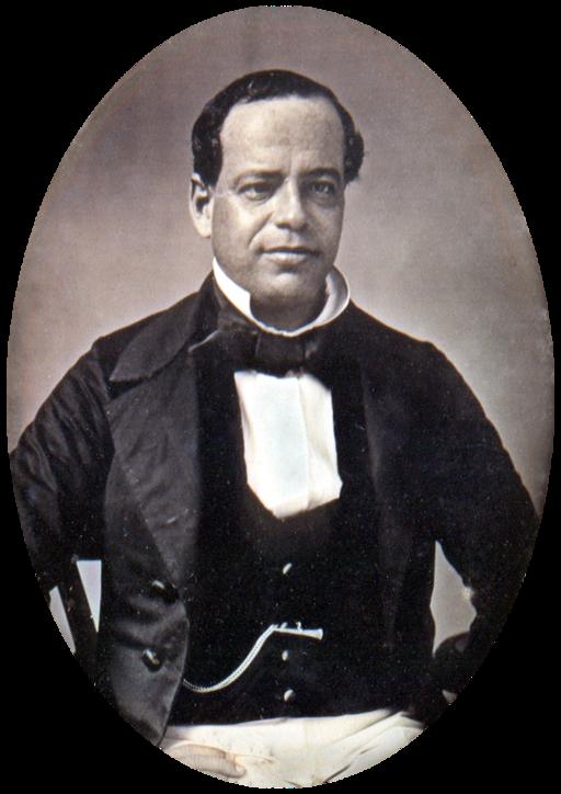 General Santa Anna c 1853