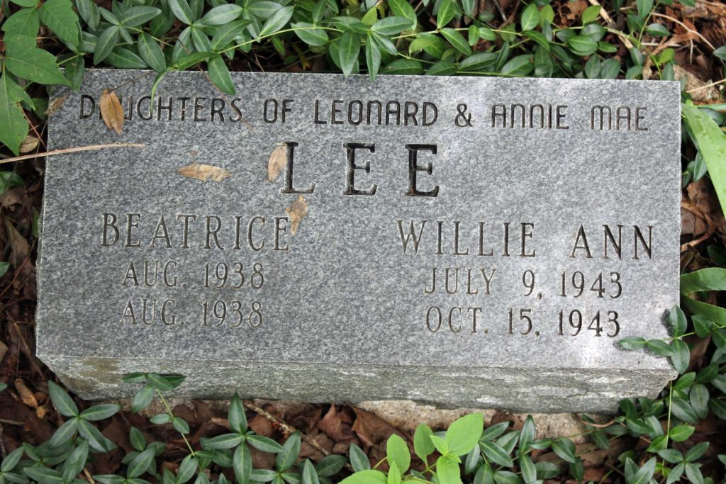 Beatrice and Willie Ann Lee, grand-daughters of Willie Pryor Gregory.
